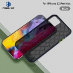 For iPhone 12 Pro Max PINWUYO Series 2 Generation PC + TPU Anti-drop All-inclusive Protective Case(Blue)