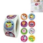 10 PCS Cartoon Animal Reward Stickers Classroom Decoration Label, Size: 2.5cm / 1inch(A-110)