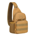 A14 Outdoor Cycling One-Shoulder Water Bottle Bag Portable Tool Messenger Bag, Size: One size(Brown)
