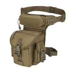 A90 Waterproof Oxford Cloth Messenger Bag Photography Equipment Sports Leg Bag(Army Green)