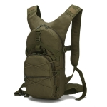 B10 006 Outdoor Waterproof Oxford Cloth Portable Cycling Backpack, Size: Free size(Army Green)