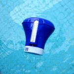 K-1068 8 inch Swimming Pool Cleaning Tool Floating Dispenser for Disinfection Pills