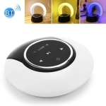 6W ZT6088 Bluetooth Subwoofer Stereo Speaker LED Dimming Folding Touch Atmosphere Night Light(White Yellow Blue)