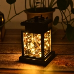 Solar Copper Wire Candle Light Outdoor Garden Waterproof Landscape Decorative Lawn Light