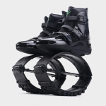 Jumping Shoes Bounce Shoes Indoor Sports Rebound Shoes, Size: 36/38 (Black Green Label)