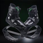 Jumping Shoes Bounce Shoes Indoor Sports Rebound Shoes, Size:  39/41  (Black Green Label)