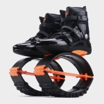 Jumping Shoes Bounce Shoes Indoor Sports Rebound Shoes, Size: 42/44   (Orange Black)
