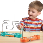 2 PCS Children Electric Maze Game Toy PK Concentration Training Toy(Random Colors Delivery)