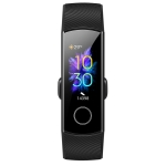 Original Huawei Honor Band 5 0.95 inch AMOLED Color Screen Smart Wristband Bracelet, Support Heart Rate Monitor / Information Reminder / Sleep Monitor, NFC Version(Black)