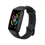 Original Huawei Honor Band 6 1.47 inch AMOLED Color Screen 50m Waterproof Smart Wristband Bracelet, NFC Version, Support Heart Rate Monitor / Information Reminder / Sleep Monitor(Black)