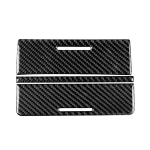 3 PCS Car Carbon Fiber Storage Box Decorative Sticker for Mitsubishi Lancer EVO (Only GT / GTS) 2010-2015, Left and Right Drive Universal