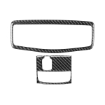 Car Carbon Fiber Roof Front Reading Light without Sunroof Decorative Sticker for Mitsubishi Lancer EVO 2008-2015, Left and Right Drive Universal