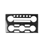 Car Carbon Fiber Instrument Control Panel Decorative Sticker for Nissan GTR R35 2008-2016, Left Drive