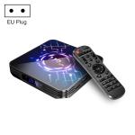 H9-X3 8K HDR Smart TV BOX Android 9.0 Media Player wtih Remote Control, Quad Core Amlogic S905X3, RAM: 4GB, ROM: 64GB, 2.4GHz/5GHz WiFi, Bluetooth, EU Plug