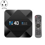 H40 6K HDR Smart TV BOX Android 10.0 Media Player wtih Remote Control, Quad Core Allwinner H616, RAM: 2GB, ROM: 16GB, 2.4GHz/5GHz WiFi, AU Plug