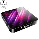 H40-2 6K HDR Smart TV BOX Android 10.0 Media Player wtih Remote Control, Quad Core Allwinner H616, RAM: 4GB, ROM: 32GB, 2.4GHz/5GHz WiFi, Bluetooth, AU Plug