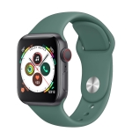 H55Pro 1.4 inch TFT Screen Smart Bluetooth Watch, Support Sleep Monitor / Heart Rate Monitor / Blood Pressure Monitor, Style: Silicone Strap(Green)