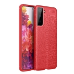 For Samsung Galaxy S30+ Litchi Texture TPU Shockproof Case(Red)