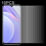 For Xiaomi Redmi Note 9 4G 10 PCS 0.26mm 9H 2.5D Tempered Glass Film