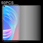 For OPPO A53 5G 50 PCS 0.26mm 9H 2.5D Tempered Glass Film