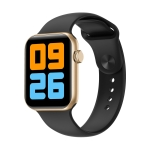 V41 1.78 inch TFT Screen IP68 Waterproof Smart Watch, Support Sleep Monitor / Heart Rate Monitor / Blood Pressure Monitor(Black Gold)