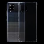 For Samsung Galaxy A42 5G Four-Corner Shockproof Ultra-thin TPU Case(Transparent)