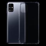 For Samsung Galaxy M51 Four-Corner Shockproof Ultra-thin TPU Case(Transparent)
