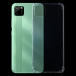For OPPO Realme C11 Four-Corner Shockproof Ultra-thin TPU Case(Transparent)