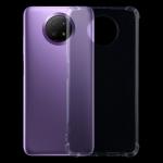 For Xiaomi Redmi Note 9 5G Four-Corner Shockproof Ultra-thin TPU Case(Transparent)