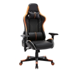 [US Warehouse] OFICINE Ergonomic Gaming Game Chairs with Armrests & Pillows & Casters (Orange)