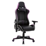 [US Warehouse] OFICINE Ergonomic Gaming Game Chairs with Armrests & Pillows & Casters(Purple)
