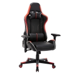 [US Warehouse] OFICINE Ergonomic Gaming Game Chairs with Armrests & Pillows & Casters (Red)