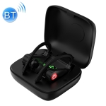 Q83 Wireless Ear-mounted Sports Bluetooth Earphone with Charging Box, Supports Three-screen LED Power Display & Power Bank