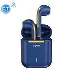 TOTU EAUB-042 Shining Series Bluetooth 5.0 TWS Noise Cancelling Wireless Bluetooth Earphone (Blue)