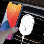 X19 Magsafe Car Air Outlet Vent Mount Clamp Holder 15W Fast Charging Qi Magnetic Wireless Charger For iPhone 12 Series