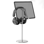 R-JUST PB03 Lifting / Angle Adjustable Multi-function Headset / Tablet / Mobile Phone Holder, Suitable for Devices Under 12.9 inch