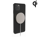 WK OJD-63 15W Magnetic Wireless Charger for iPhone 12 Series Phones (White)