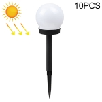10 PCS Light-controlled Bulb-shaped Lawn Light Outdoor Garden Light LED Solar Light