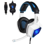 SADES Letton L10 USB Interface 7.1 Channel Gaming Headset with Hidden Microphone, Cable Length: 1.5m