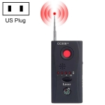 CC308+ Multi Wireless Camera Lens Detector Radio Wave Signal Detect Full-range RF GSM Device Finder(US Plug)