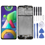 Original LCD Screen and Digitizer Full Assembly With Frame for Samsung Galaxy M21 SM-M215