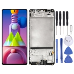 Original LCD Screen and Digitizer Full Assembly With Frame for Samsung Galaxy M51 SM-M515