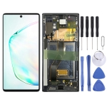 Original LCD Screen and Digitizer Full Assembly With Frame for Samsung Galaxy Note10 SM-N970