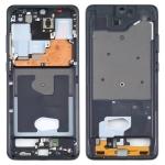 Middle Frame Bezel Plate for Samsung Galaxy S20 Ultra 5G SM-G988B (Black)