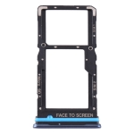 SIM Card Tray + SIM Card Tray / Micro SD Card Tray for Xiaomi Mi 10T Lite 5G (Blue)