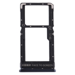 SIM Card Tray + SIM Card Tray / Micro SD Card Tray for Xiaomi Poco X3 (Blue)
