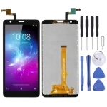 LCD Screen and Digitizer Full Assembly for ZTE Blade L8 (Black)