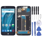 LCD Screen and Digitizer Full Assembly With Frame for ZTE Blade A310 (Grey)