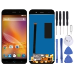 LCD Screen and Digitizer Full Assembly for ZTE Blade X7 V6 T660 T663 (Black)