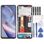 LCD Screen and Digitizer Full Assembly With Frame for OPPO A92s PDKM00
